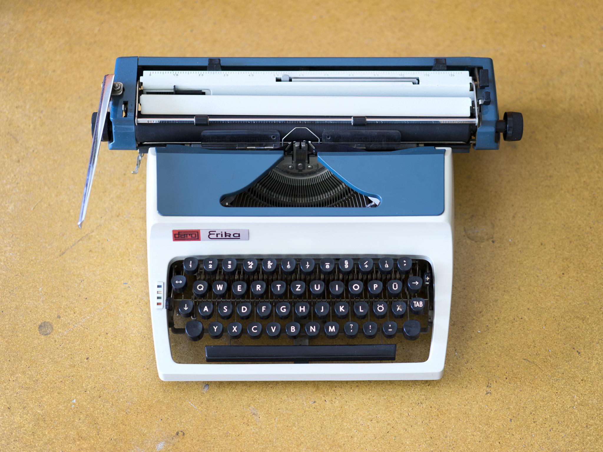 Erika Typewriter