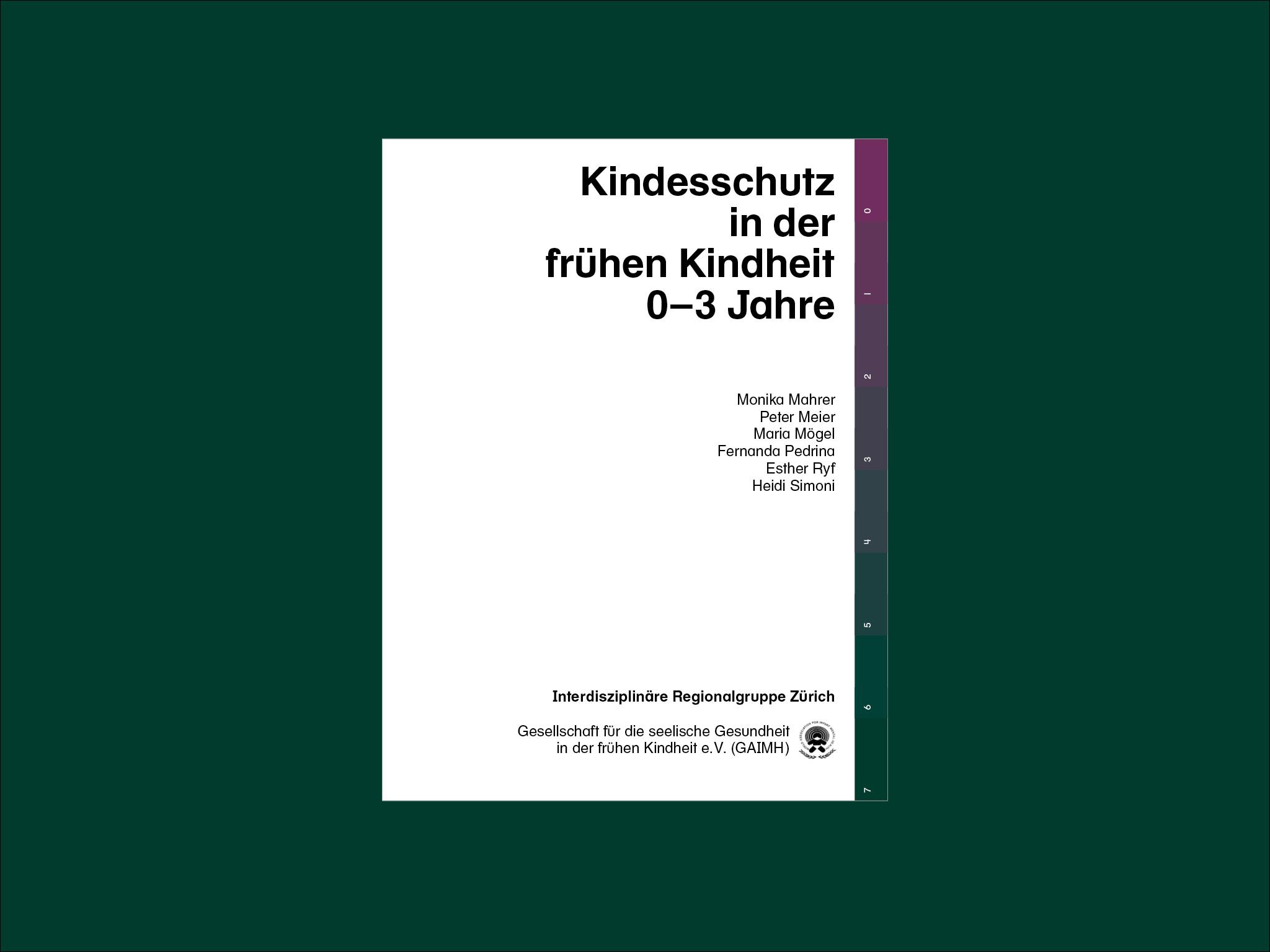 Kindesschutz in der frühen Kindheit 0–3 Jahre