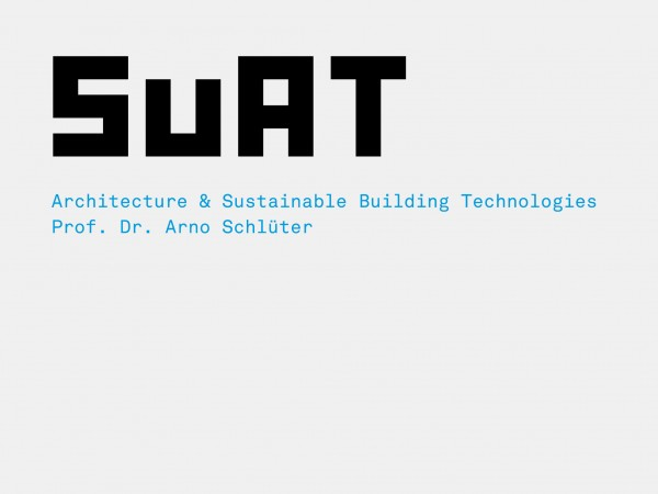 SuAT – Architecture and Sustainable Building Technologies