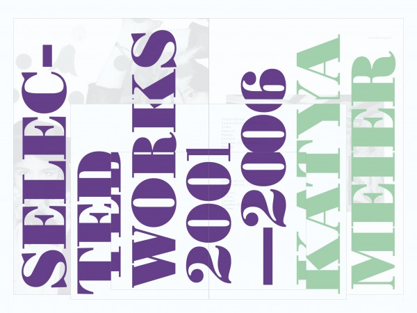 Selected Works 2001–2006